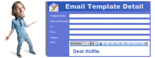 online dating email templates